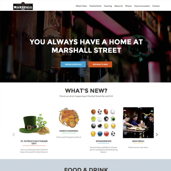Marshall Street Bar and Grill