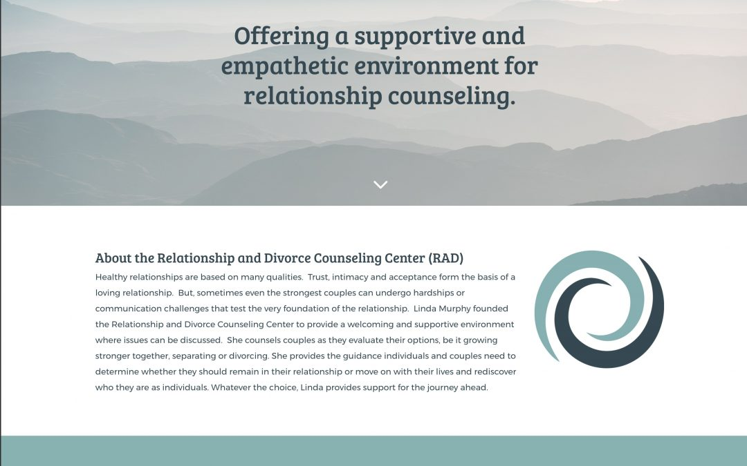 Website Design – Relationship & Divorce Counseling Center