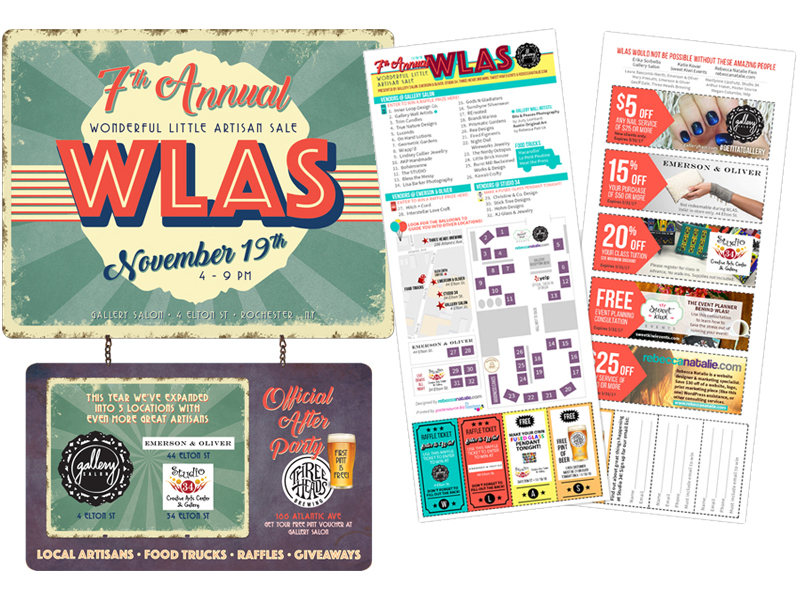 WLAS Event Poster & Map
