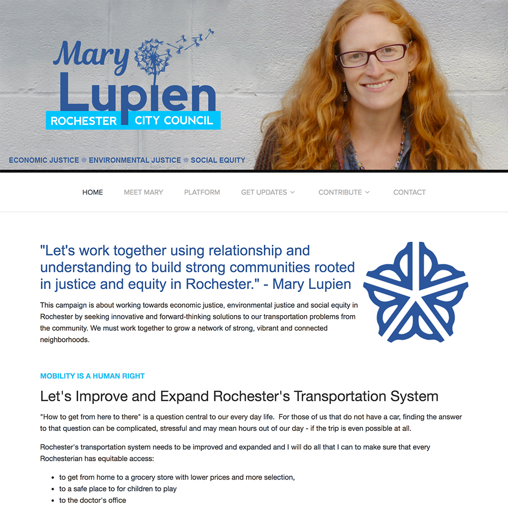 Mary Lupien for City Council